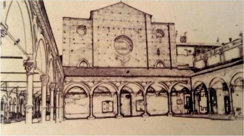 Santa Maria dei Servi - schizzo